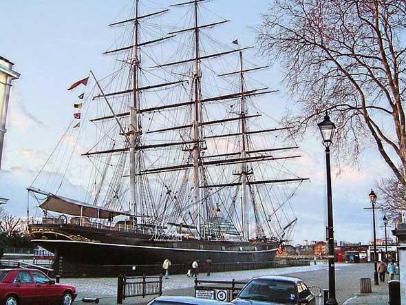 El Cutty Sark en Greenwich, Londres