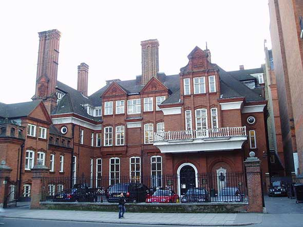 Sede de la Royal Geographical Society en Kensington, Londres