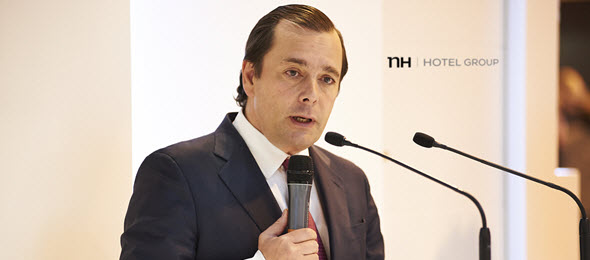 Federico González, CEO de NH