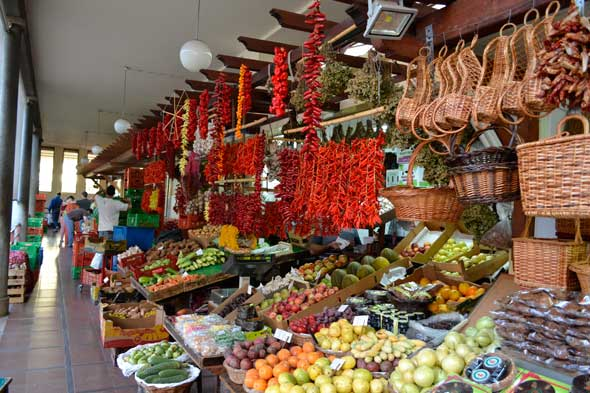 Mercado de Lavradores en Funchal, Madeira. Foto (c) Javier Olivares | Viajar a Madeira. Tu Gran Viaje revista de viajes y turismo