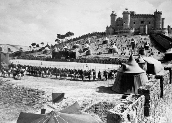 Campeonato Mundial de Combate Medieval en el Castillo de Belmonte