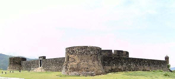 El Fuerte de San Felipe fue construido en el siglo XVI