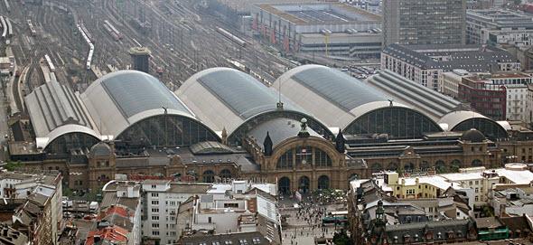 La estación de tren de Frankfurt es la segunda más importante de Alemania