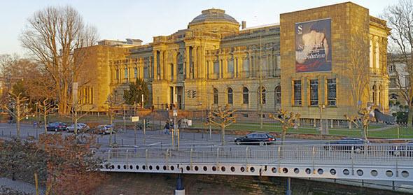 La galería Staedel de Frankfurt alberga una de las mejores colecciones de arte de Alemania