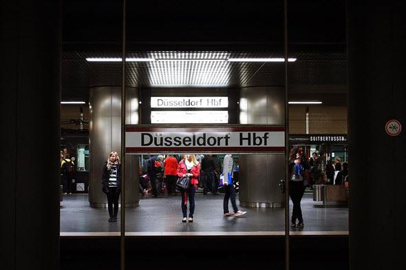 Estación de tren de Düsseldorf. #AlemaniaConDB