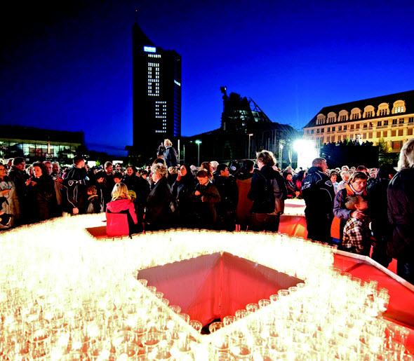 Festival de las luces de Leipzig. Foto (c) Leipzig Tourismus