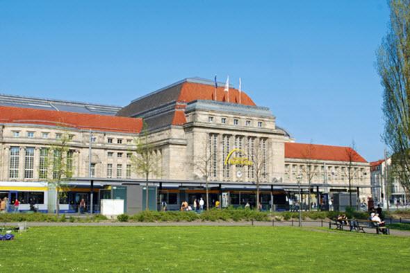 Estacion de tren de Leipzig Foto (c) Leipzig Tourismus