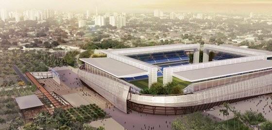 La Arena Pantanal tiene un aforo de 42.000 localidades