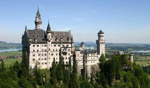 palacio de Neuschwanstein. Los palacios reales más famosos del mundo en Tu Gran Viaje