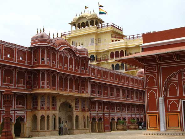 Palacio de la Ciudad (City Palace) o Palacio del Maharajá de Jaipur. Los palacios reales más famosos del mundo, en Tu Gran Viaje