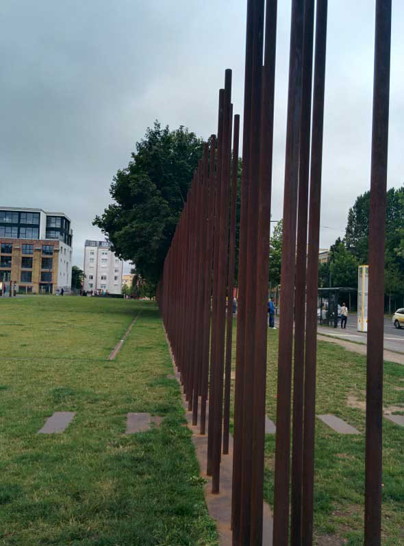 El Memorial del Muro de Berlín en Bernauer Strasse. Foto (c) Tu Gran Viaje