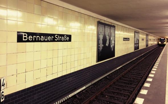 La estación de U-Bahn de Bernauer Strasse es también un recordatorio del Memorial del Muro de Berlín. Foto (c) Tu Gran Viaje
