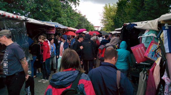 El Mercadillo del MauerPark en Berlín, cita obligada de los domingos en la capital alemana