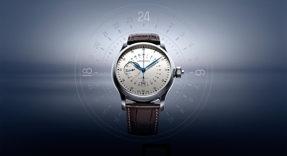 The Longines Twenty Four Hours Single Push-Piece Chronograph