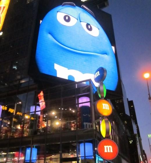 La tienda M&M's Wold de Nueva York, una visita imprescindible si se viaja con niños a la Gran Manzana