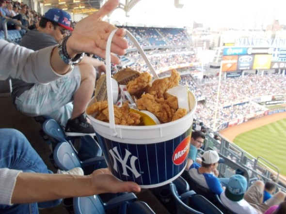¿A quién le importa el resultado del partido con un ambiente así en el Yankee Stadium?
