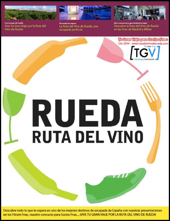 """Descarga gratis la revista """"Tu Gran Viaje por la Ruta del Vino de Rueda"""""""