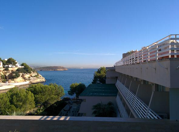 Panorámica desde las suites del Barceló Cala VIñas, en Mallorca. Foto © Tu Gran Viaje