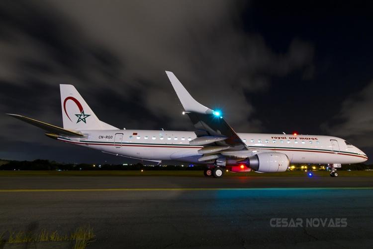 Nuevos aviones Embraer 190 para Royal Air Maroc