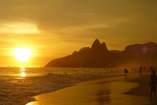 Playa de Ipanema, Río de Janeiro
