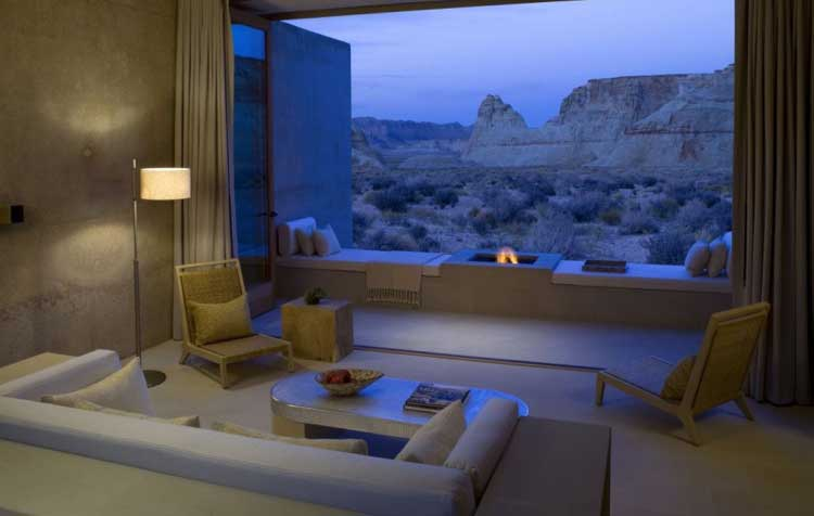 Amangiri Resort. Desierto de Utah (EEUU)