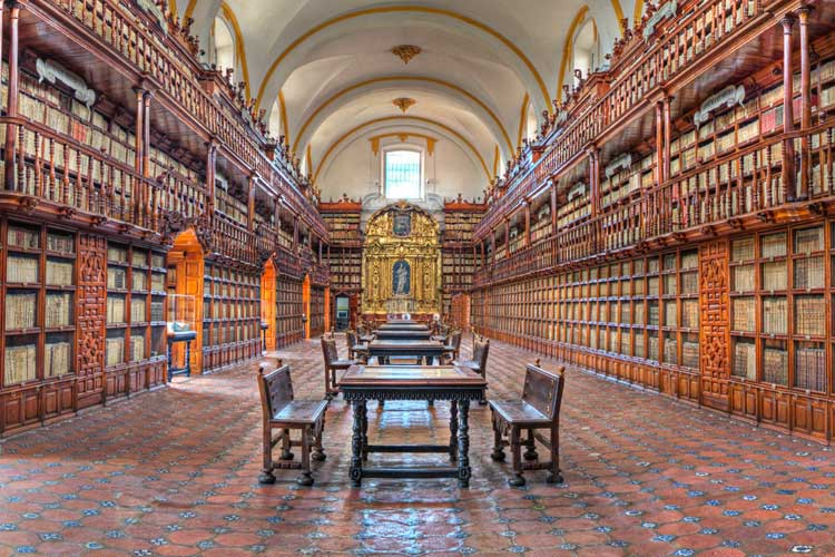 Biblioteca Palafoxiana de Puebla, México Atardecer en Puebla | Tu Gran Viaje | Viajar a Puebla