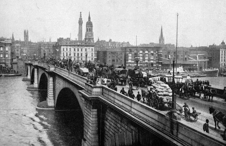 Puente de Londres, circa 1900