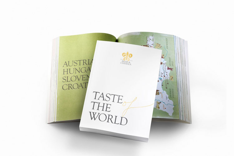 Taste of the world. Relais & Chateaux 2015