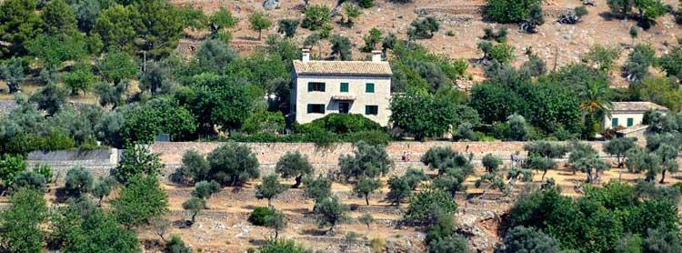Can Alluny, la casa de Robert Graves en Deià, Mallorca