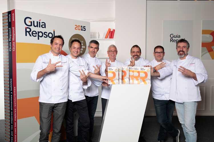 La Guía Repsol 2015 concede seis nuevos tres Soles, su máximo reconocimiento gastronómico, a cinco restaurantes en España y uno en Portugal