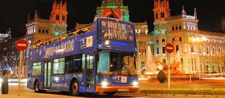 Navibus de Madrid. Planes Viajeros con niños en Navidad en Madrid