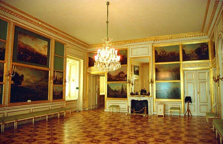 Sala de Canaletto del Castillo Real de Varsovia
