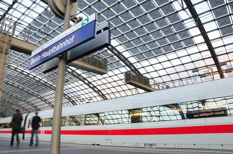 Deutsche Bahn en España en 2015