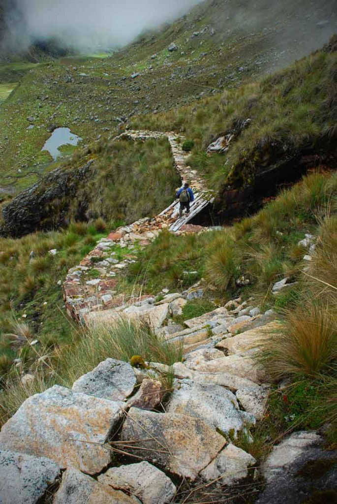 Camino Inka a su paso por Perú