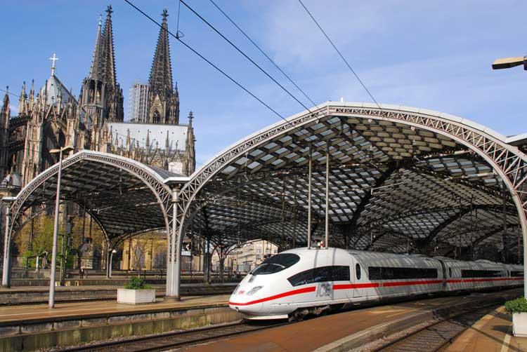 Deutsche Bahn en España Foto © DB AG/Christian Bedeschinski