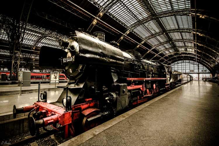 Estación Central de Ferrocarril de Leipzig. Foto de Olli Henze