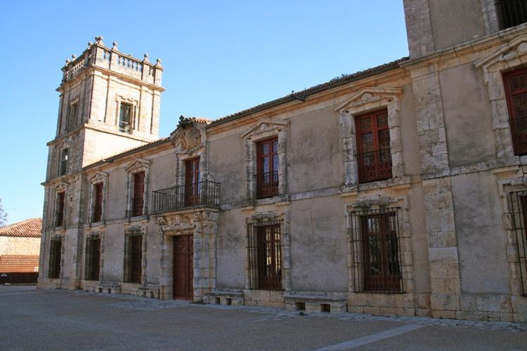 Fachada del Palacio de Goyeneche en el Nuevo Baztán.
