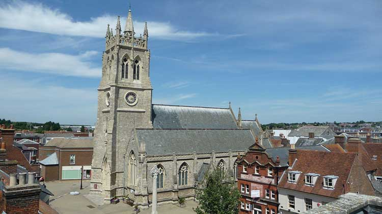 St Thomas Church, Newport, Isla de Wight VIAJAR A LA ISLA DE WIGHT | revista tu gran viaje