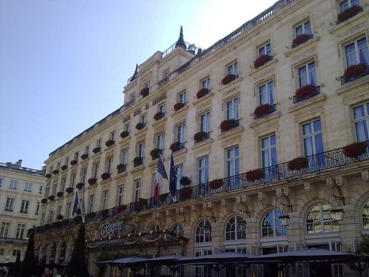 Grand Hôtel de Bordeaux & Spa de Burdeos. Foto © Tu Gran Viaje.