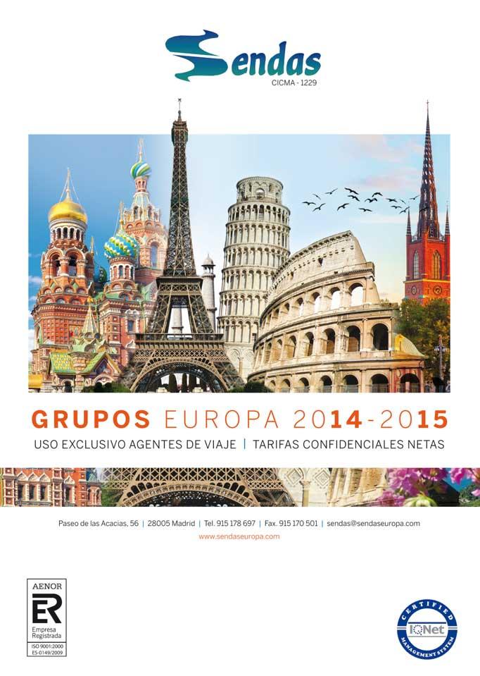 Catálogo de Grupos 2014-2015 de Sendas