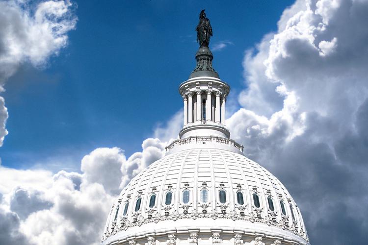 Cúpula del Capitolio de Estados Unidos en Washington DC