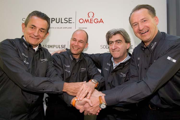 Omega, patrocinador de Solar Impulse