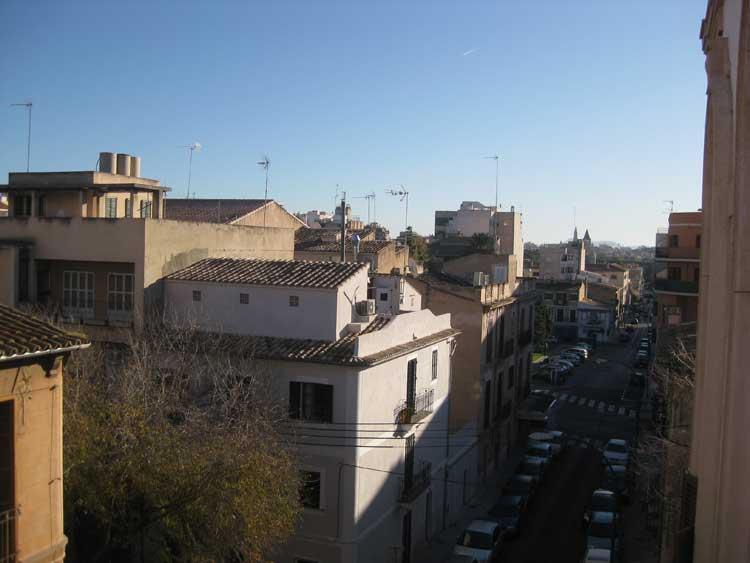 Vista de Palma desde la primera oficina de Tu Gran Viaje en Santa Catalina. foto © Tu Gran Viaje