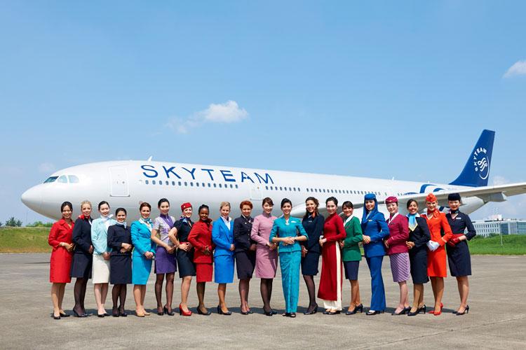 """SkyTeam, elegida """"Alianza de Aerolíneas del Año"""""""