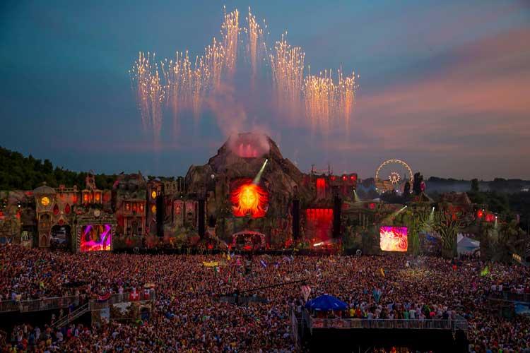 Festival Tomorrowland 2013. Foto © Visit Flanders
