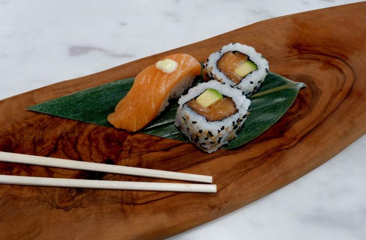 Air Europa, primera aerolínea española en servir sushi a bordo