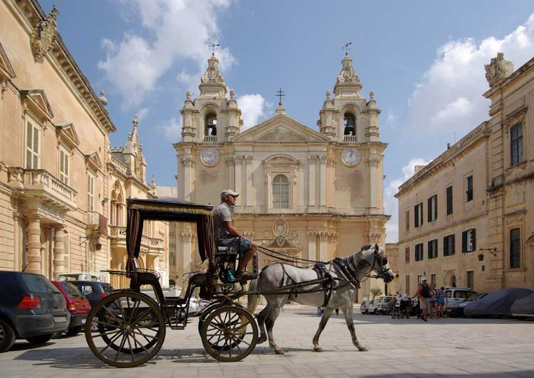 La Catedral de San Pablo de Mdina, Malta