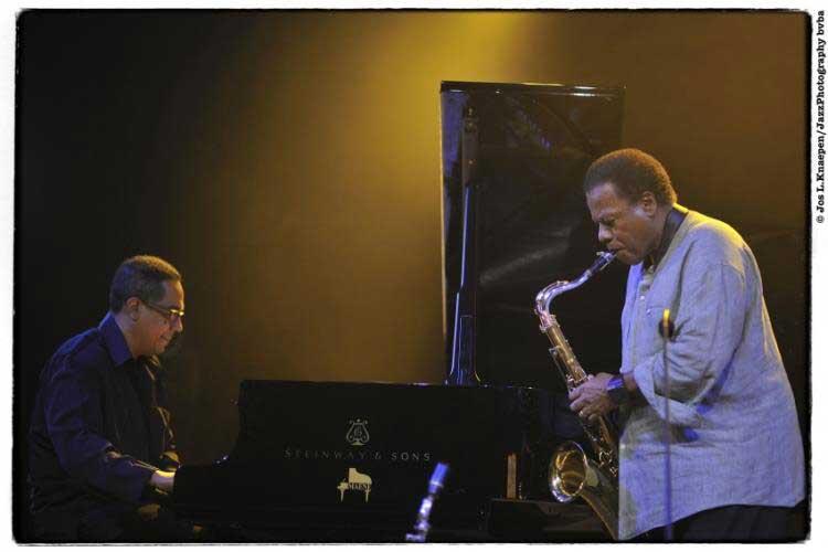El Wayne Shorter Quartet en el Festival de Jazz de Gante. Foto © Jos Knaepen
