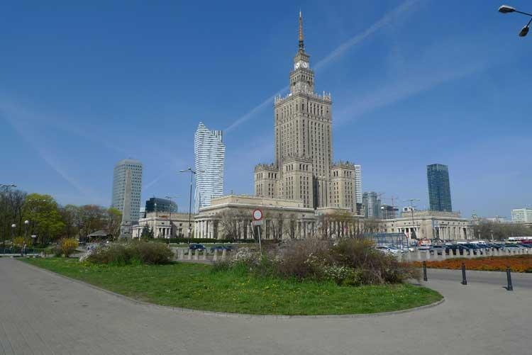 Palacio de las Ciencias de Varsovia. Foto © Ángel Ingelmo