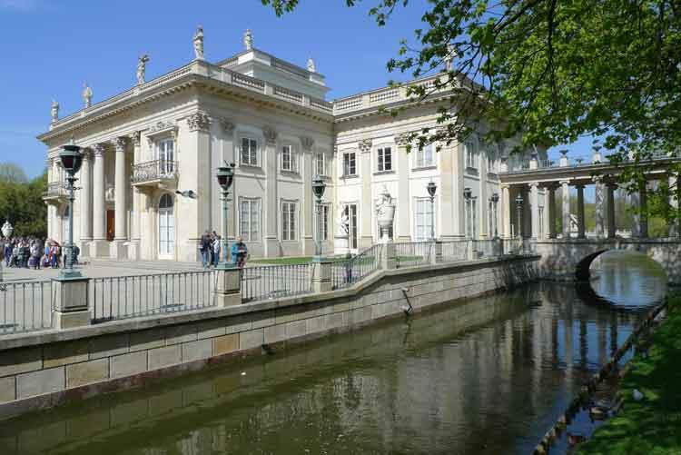 Palacio Lazienkoski en el parque Lazienki, Varsovia. Foto © Ángel Ingelmo